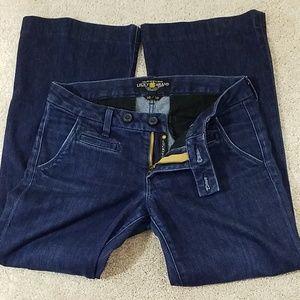 LUCKY BRAND Women's Trouser Leg Jeans.